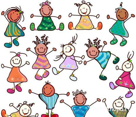 прикольные рисованные картинки с детьми