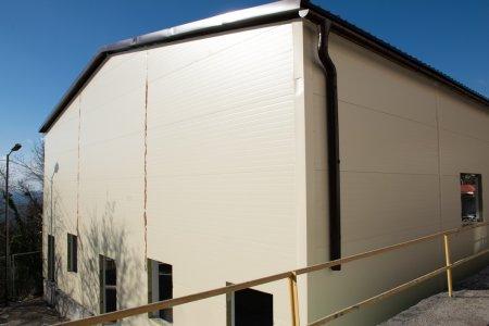 В Алупкинской средней школе №1 завершается монтаж модульного спортивного зала