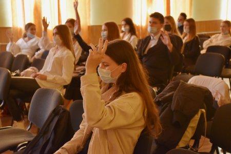 В Ялте избран лидер Совета старшеклассников ученического самоуправления